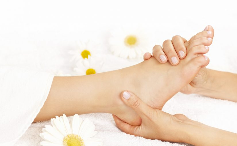 Why foot rubs are good for you.