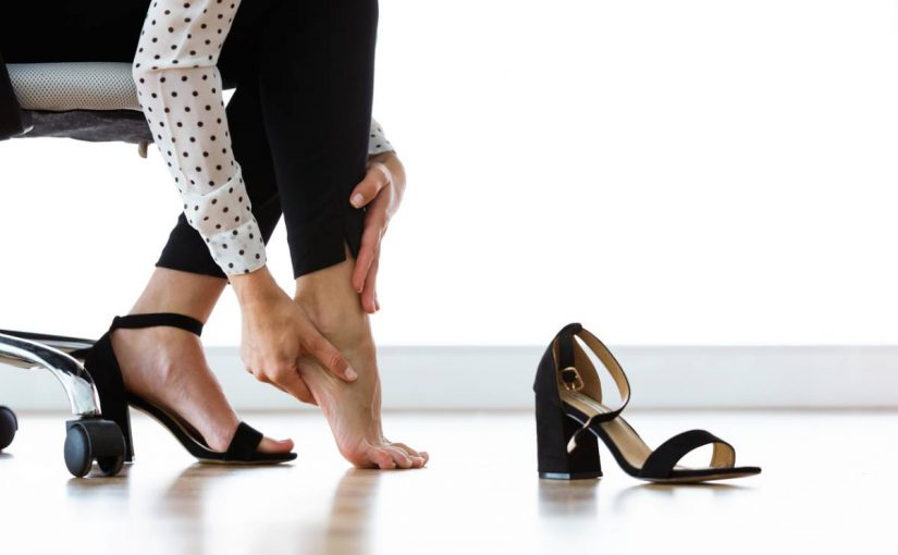 Unhealthy shoes for your feet include these heels.